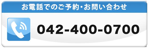 通話番号042-400-0700